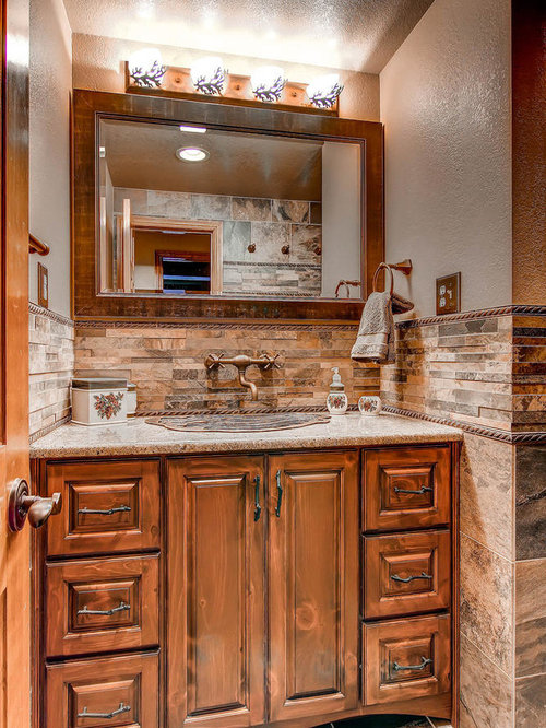 Rustic Bathroom Design Ideas Remodels Photos With