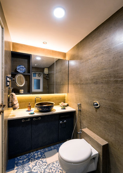 Indian Bathroom by INSCAPE DESIGN