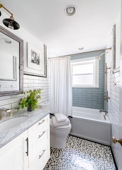Cool Traditional Bathroom by Hannah Dee Interiors