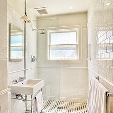 Craftsman Bathroom by Bosworth Hoedemaker