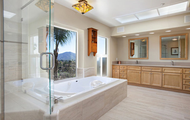 Contemporary Bathroom by Mathis Custom Remodeling