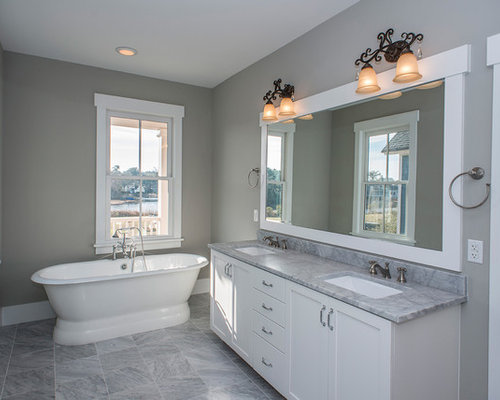 Craftsman Charleston Bathroom Design Ideas Remodels & s