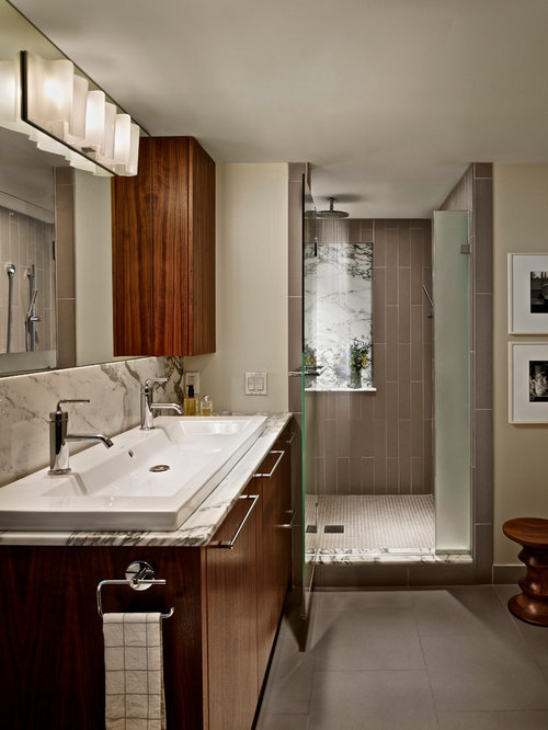 Taupe Colored Tile Home Design Ideas, Pictures, Remodel and Decor