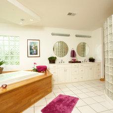 Contemporary Bathroom by Baugher, Inc.