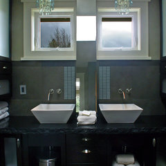 contemporary bathroom by Sellentin True Design Build