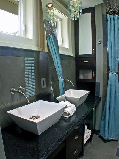 Contemporary Bathroom by Sellentin True Design Build
