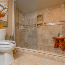 Traditional Bathroom by GMH Construction