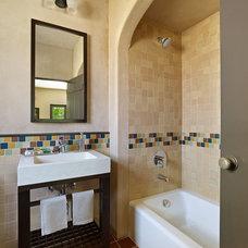 Mediterranean Bathroom by Cody Anderson Wasney Architects, Inc.