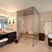 Showers with Open Bench