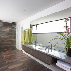 Contemporary Bathroom by Walton Architects