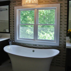 Transitional Bathroom by Today's Kitchens