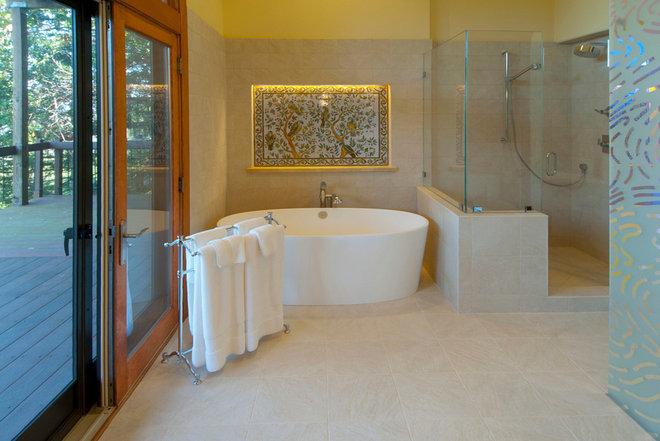 Contemporary Bathroom by Indivar Sivanathan