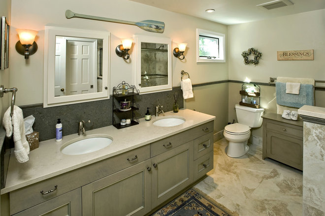 Traditional Bathroom by Penn Contractors Inc