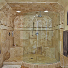 Contemporary Bathroom by Remodel Works Bath & Kitchen