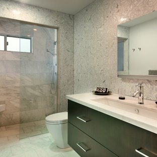 Glass Shower With Bench Houzz