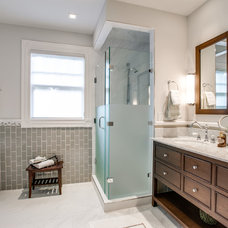 Traditional Bathroom by J Campbell Interiors