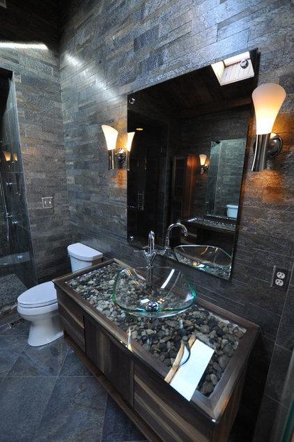 Modern Bathroom by Supreme Surface, Inc.