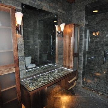 Munro Spa Bathroom Remodel Greenwood, Indaina