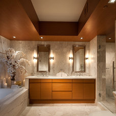 Contemporary Bathroom by RS3 DESIGNS