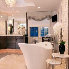 Contemporary Bathroom by NOTION, LLC