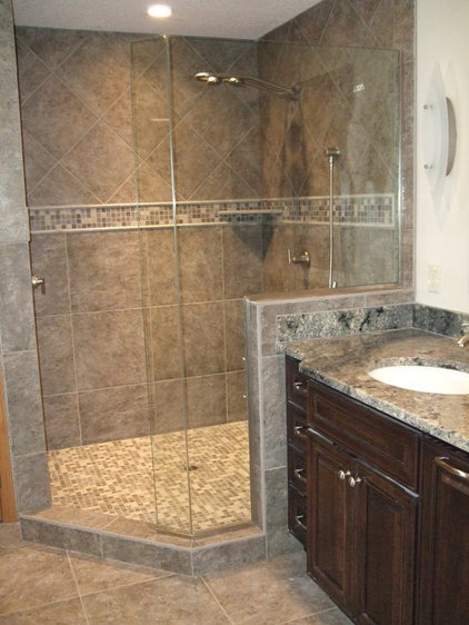 traditional bathroom by l evansdesigngroup inc