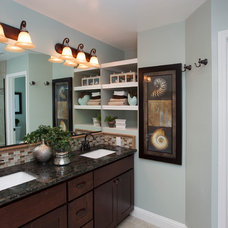 Traditional Bathroom by LL Cool Homes