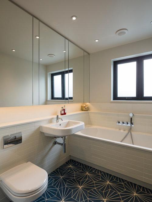 Offset Tile Pattern Home Design Ideas Pictures Remodel
