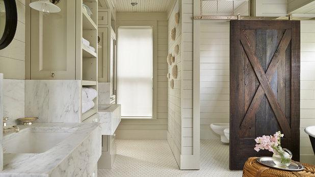 Farmhouse Bathroom by Hoedemaker Pfeiffer