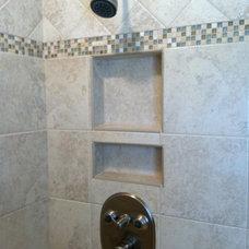 Traditional Bathroom by Jayne McGinn Designs, LLC