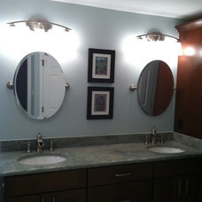 Traditional Bathroom by Jayne McGinn Designs, LLC