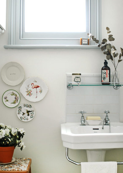 Eclectic Bathroom by Patchwork Harmony