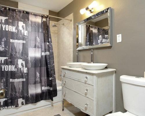 Best Single Sink Bathroom Vanity Design Ideas & Remodel Pictures