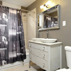 Eclectic Bathroom by Realty Queen Toronto
