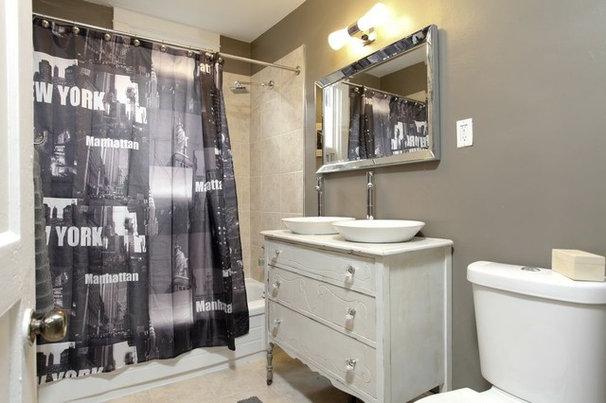 Eclectic Bathroom by Realty Queen Toronto