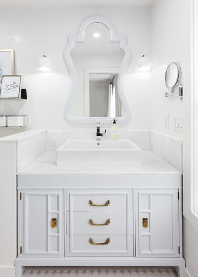 Traditional Bathroom by Design Shop Interiors