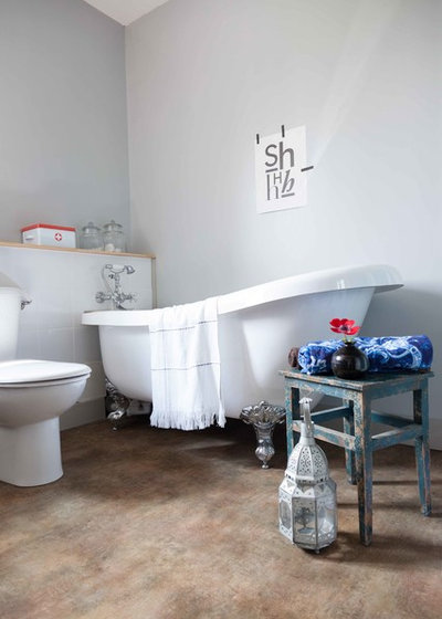 Contemporary Bathroom by Hege in France