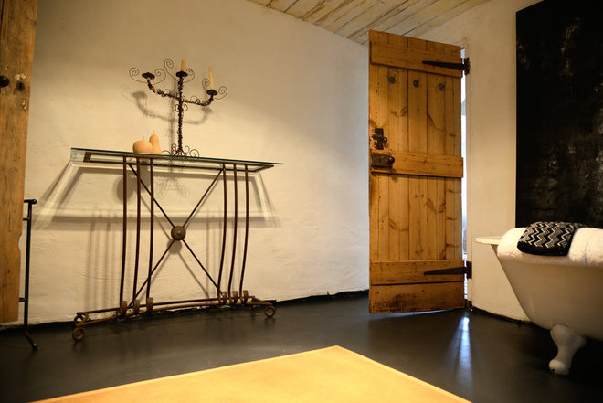 Farmhouse Bathroom by Jeni Lee