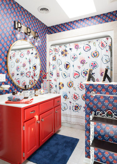 Eclectic Bathroom by Jessica Cain