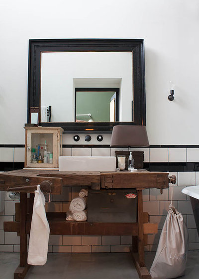 Industrial Bathroom by Louise de Miranda