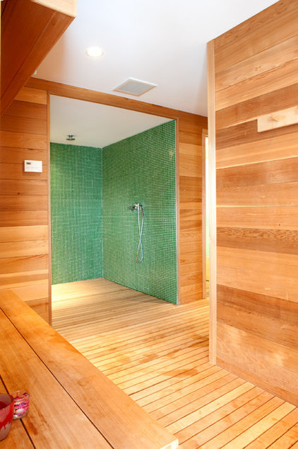 Contemporary Bathroom by Mary Prince Photography