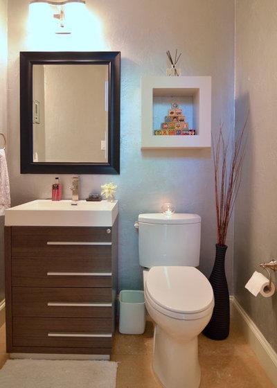 Contemporary Bathroom by Sarah Greenman