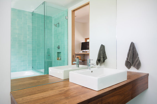 10 astuces pour optimiser les volumes d 39 une petite salle - Modele de petite salle de bain ...
