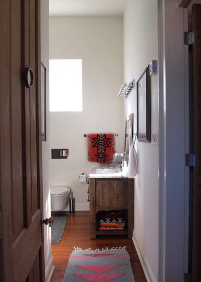 Trend Eclectic Bathroom by Kayla Stark