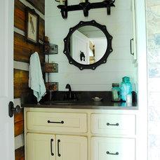 Rustic Bathroom by Corynne Pless