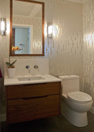 Best Contemporary Bathroom by Heather Merenda