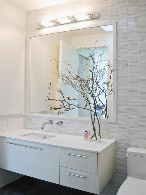 Tile Vanity Backsplash Home Design Ideas Pictures