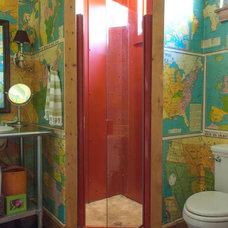 Eclectic Bathroom by Angela Flournoy