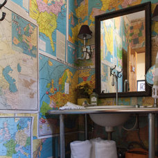 Rustic Bathroom by Angela Flournoy