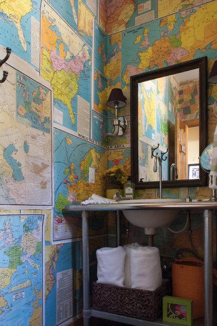 rustic bathroom by Angela Flournoy