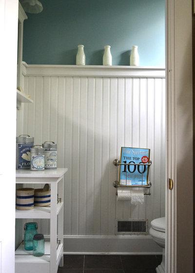 Eclectic Bathroom by Colleen Brett